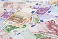 European union banknotes Stock Images