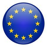 European Union Button royalty free illustration