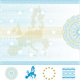 European Union Certificate Royalty Free Stock Photos