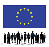 European Union Country Flag Nationality Culture Liberty Concept Royalty Free Stock Photos