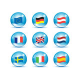 European Union country flags Stock Images