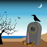 European Union crisis Royalty Free Stock Image