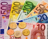 European Union currency. Money from the European Union currency stock photography