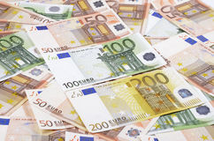 European Union Currency. Stock Photo