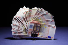 European Union Currency Royalty Free Stock Images