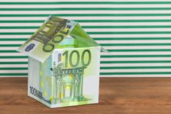 European Union Currency Royalty Free Stock Photo