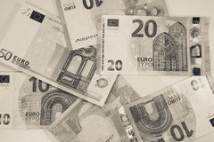 European union currency - paper euro banknotes - finance Royalty Free Stock Photography