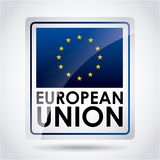 European union. Design,  illustration eps10 graphic Royalty Free Stock Photo