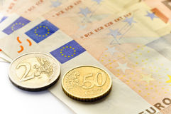 European Union - euro Stock Image