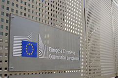 European Union - European Commission Royalty Free Stock Photos