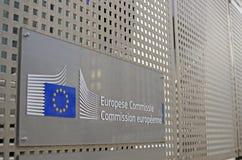 European Union - European Commission Royalty Free Stock Photos
