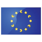 European Union euros Royalty Free Stock Images