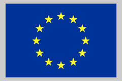 European Union Flag stock illustration