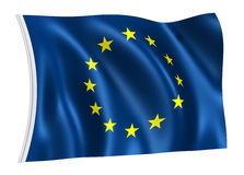 European Union Flag. The flag of europe vector illustration