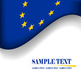 European Union flag. Royalty Free Stock Image