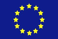 European union flag Royalty Free Stock Images