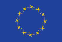 European Union Flag Alternative Stock Photos