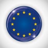 European union flag design Royalty Free Stock Photo