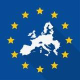 European union flag design Stock Photos