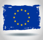 European union flag vector flag Stock Photo