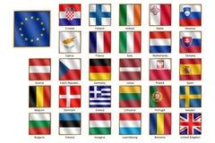 Free European Union Flags Stock Photo - 66490500