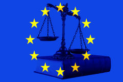 European union law Royalty Free Stock Images