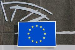 European Union logo or brand Royalty Free Stock Photo