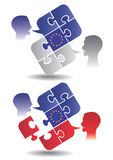 European Union members Dialogue Royalty Free Stock Photography