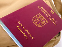 European union Passport. Stock Photos