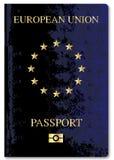 European Union Passport Royalty Free Stock Photos