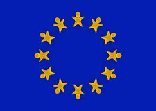 European Union people Stock Image