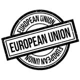 European Union rubber stamp Royalty Free Stock Photography