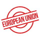 European Union rubber stamp Stock Image