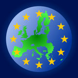 European union sphere Stock Photo