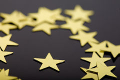 European union stars concept royalty free stock images