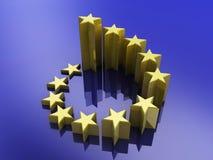 European union stars Stock Images