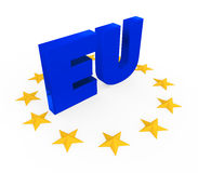 European Union Symbol Royalty Free Stock Photos