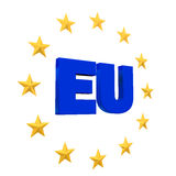 European Union Symbol Royalty Free Stock Image