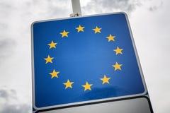 European union symbol Royalty Free Stock Photo