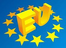 European union symbols Royalty Free Stock Photos