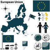European Union royalty free stock photos