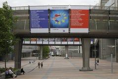 European Union welcomes Croatia to join EU Royalty Free Stock Photo