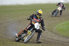 European Veteran Longtrack Series. 2013 in Eenrum (Nederlands Royalty Free Stock Image