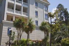 European villa house Stock Photo