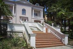 European villa house Royalty Free Stock Images