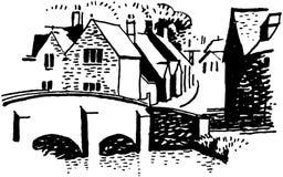 European Village Royalty Free Stock Images