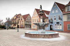 European Village Royalty Free Stock Photography
