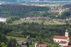 European village. Royalty Free Stock Photos