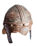 European war helmet Spangenhelm Royalty Free Stock Image