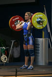 European Weightlifting Championship, Bucharest, Romania, 2009 Stock Image